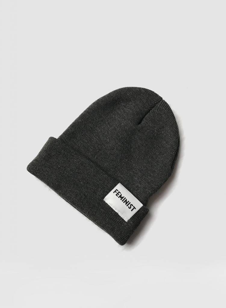 Feminist Hat - Charcoal