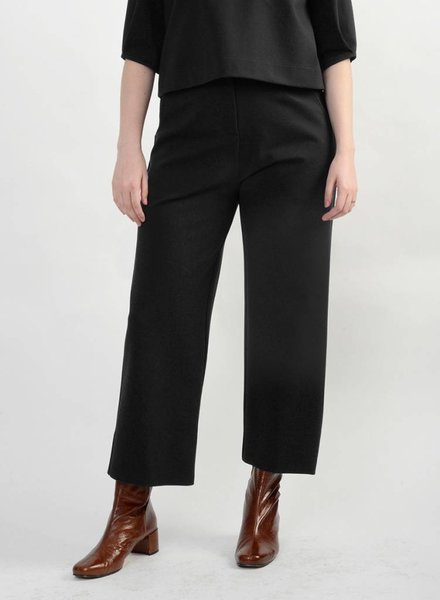 Short Hepburn Pant - Black