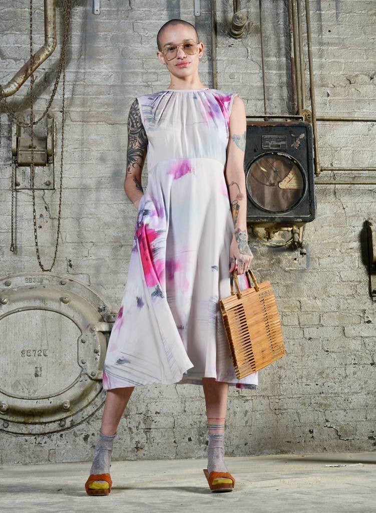 Floral Whitson Dress - Watercolor