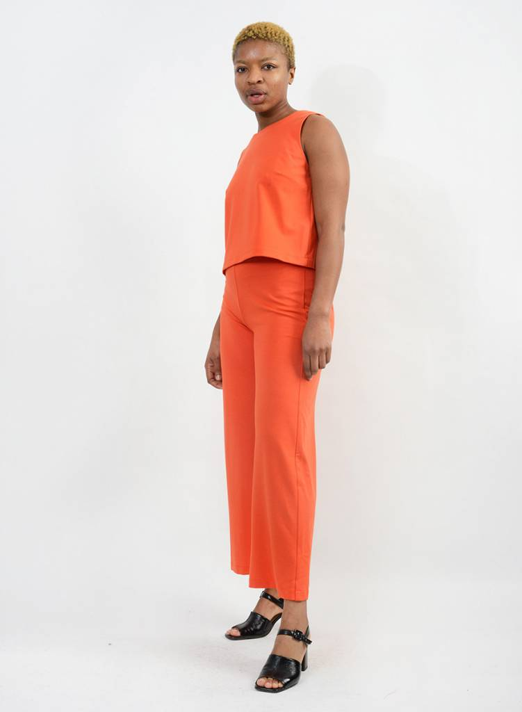 Shell Top - Orange