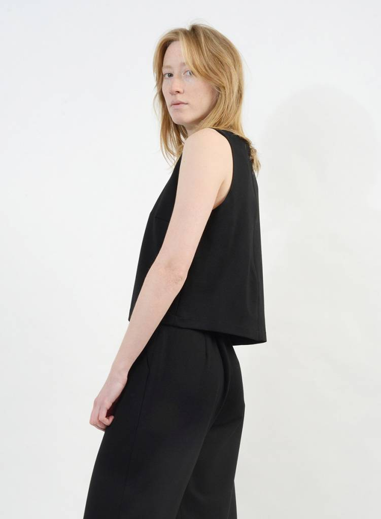 Shell Top - Black