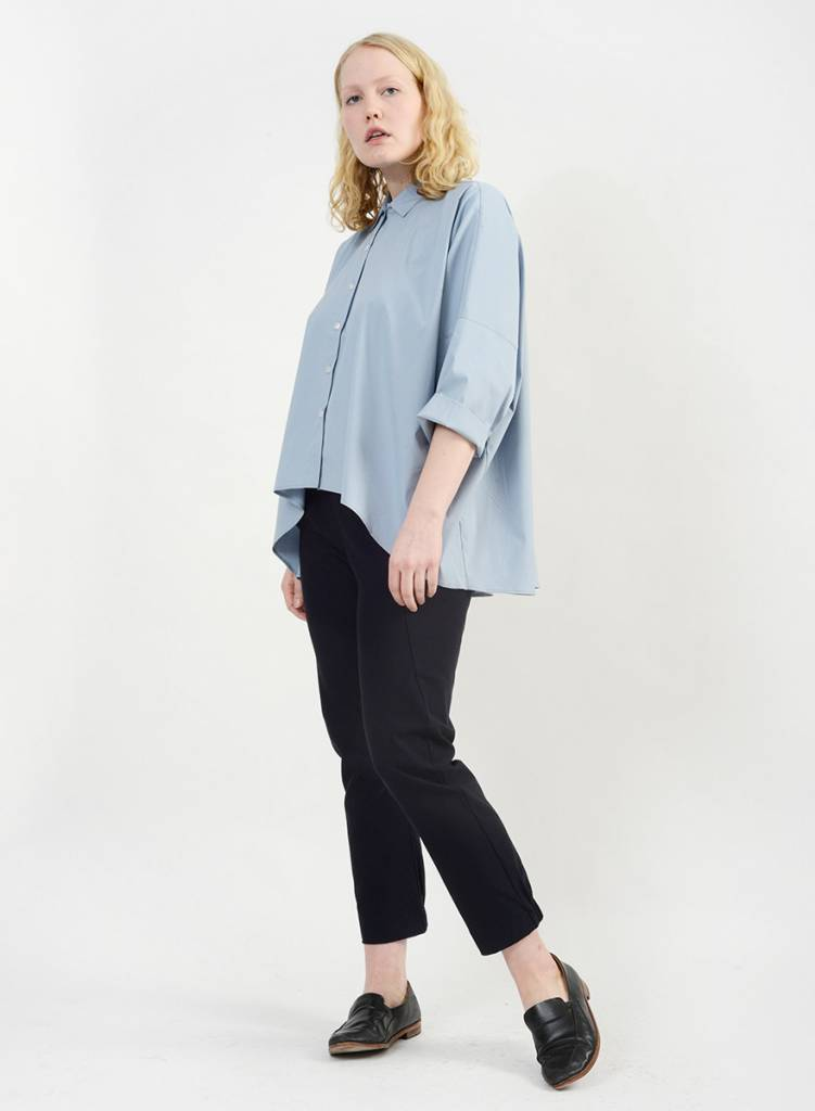 Big Dolman Shirt - Dove