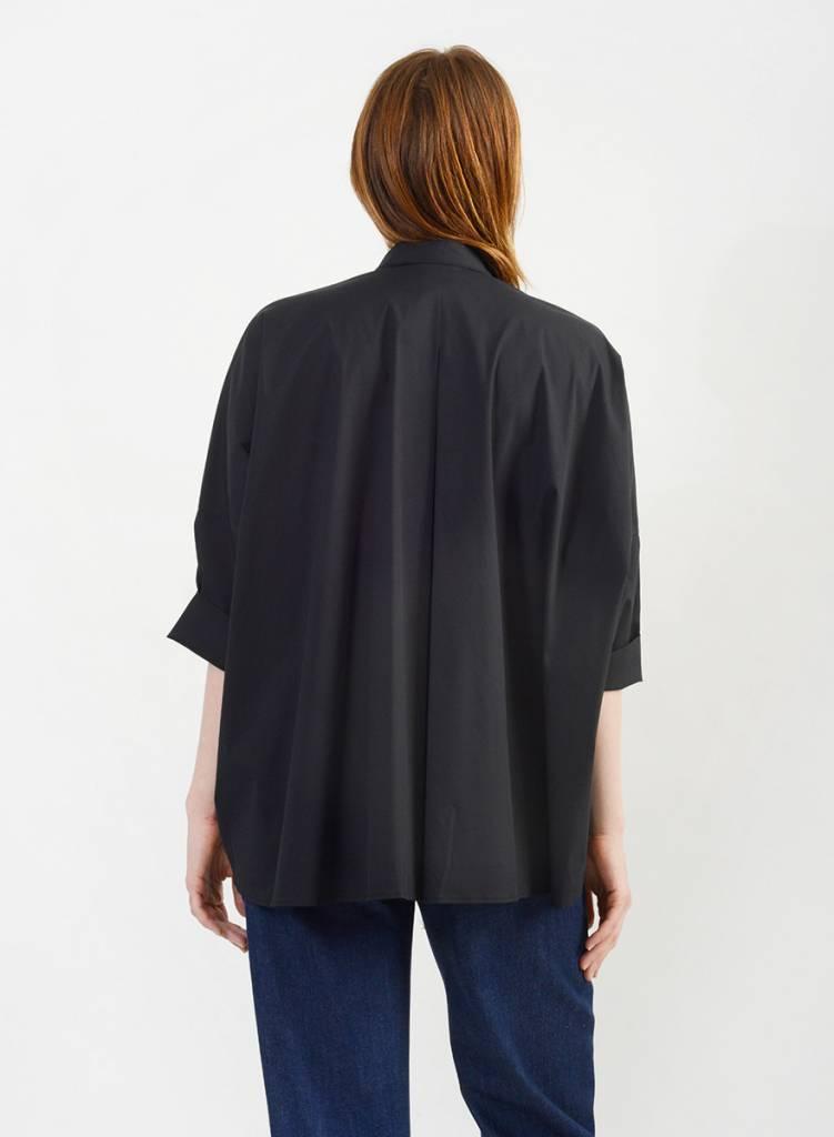 Big Dolman Shirt - Black
