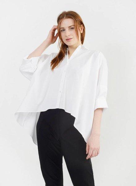 Big Dolman Shirt - White