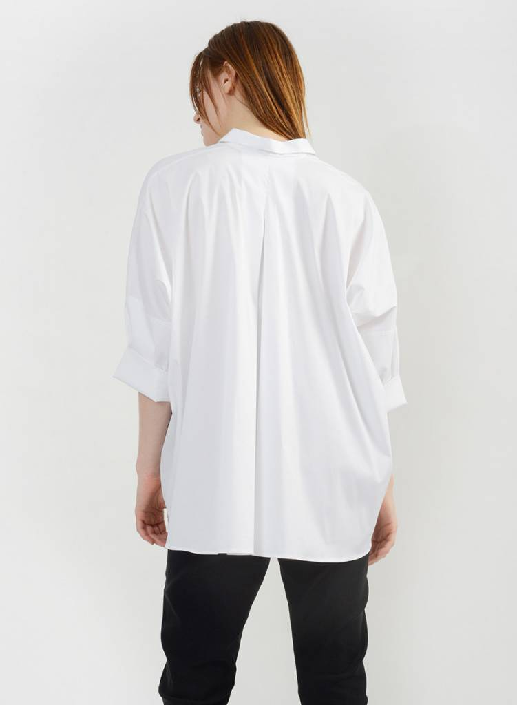Big Dolman Shirt - White