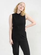 Spring Arrow Top - Black