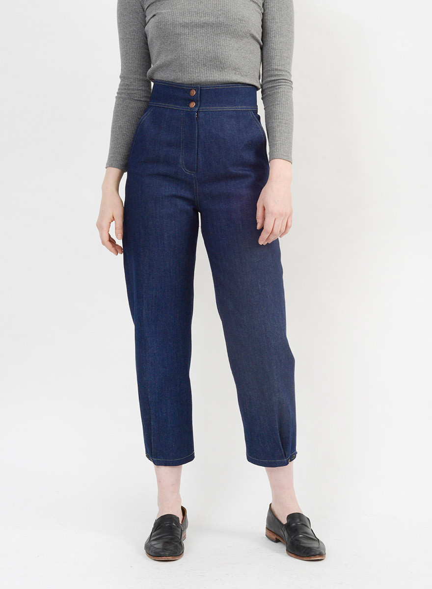 cc989ce88e6 Denim LeMaire Pant - Meg - Made in your neighborhood by women for women