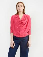Cowl Neck Top - Pink