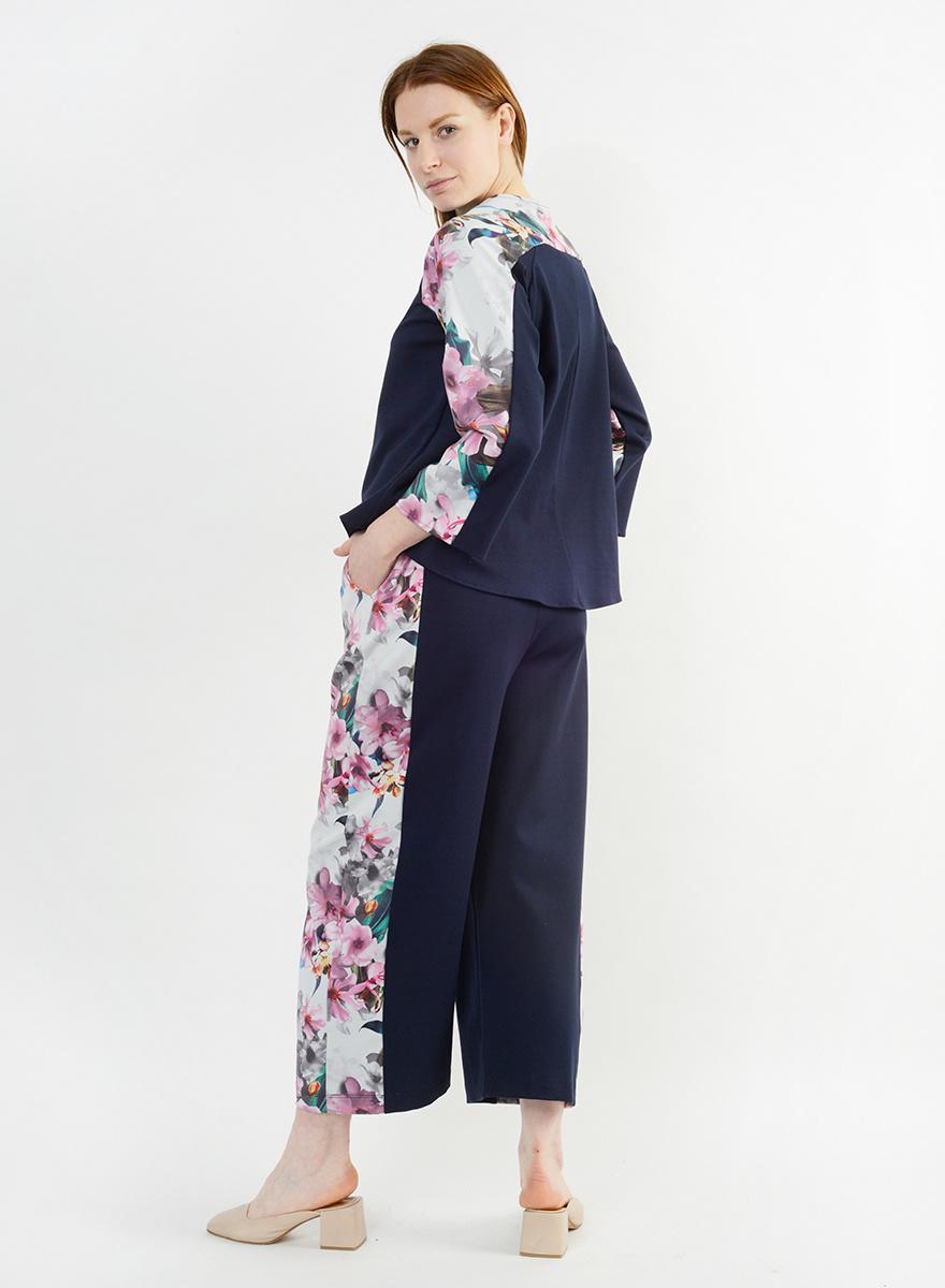 Floral Course Pant - Floral - Ink