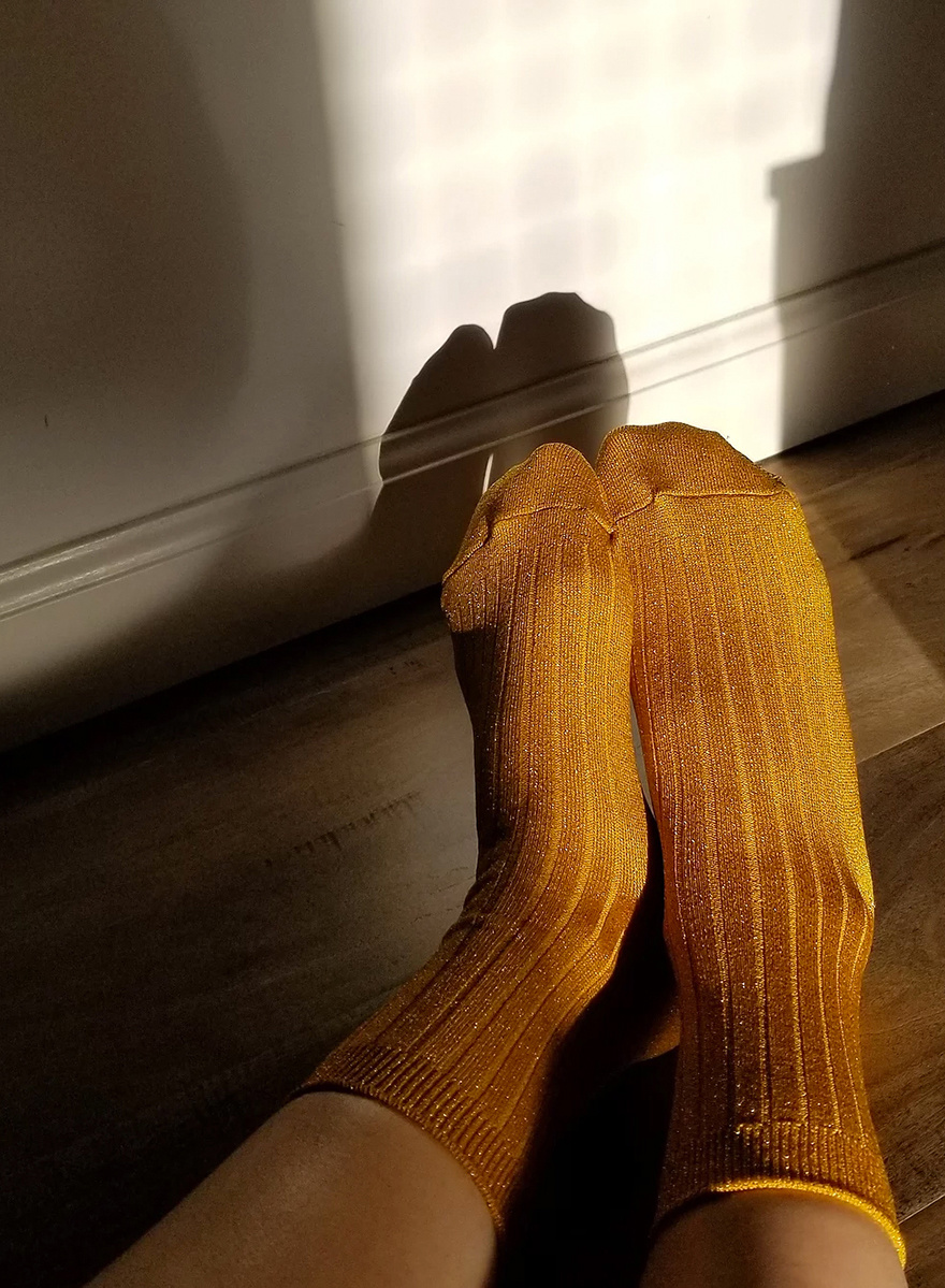 Le Bon Socks - Honey Glitter