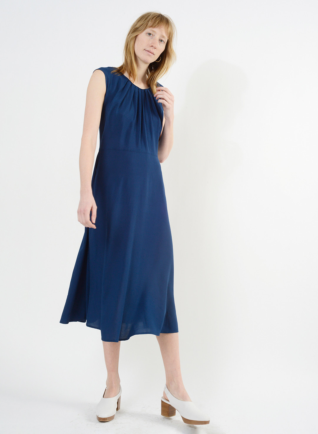 Floral Whitson Dress - Blue
