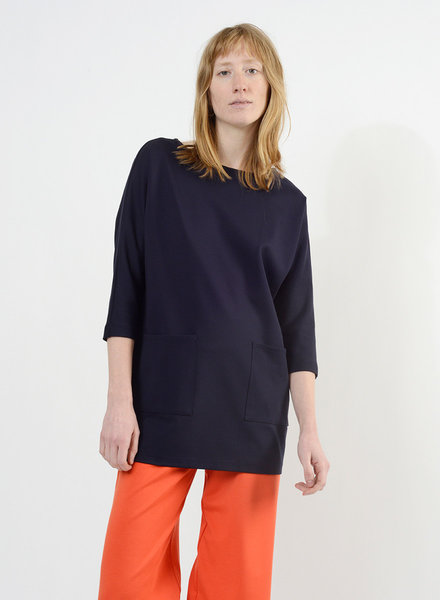 Patch Pocket Tunic - Navy