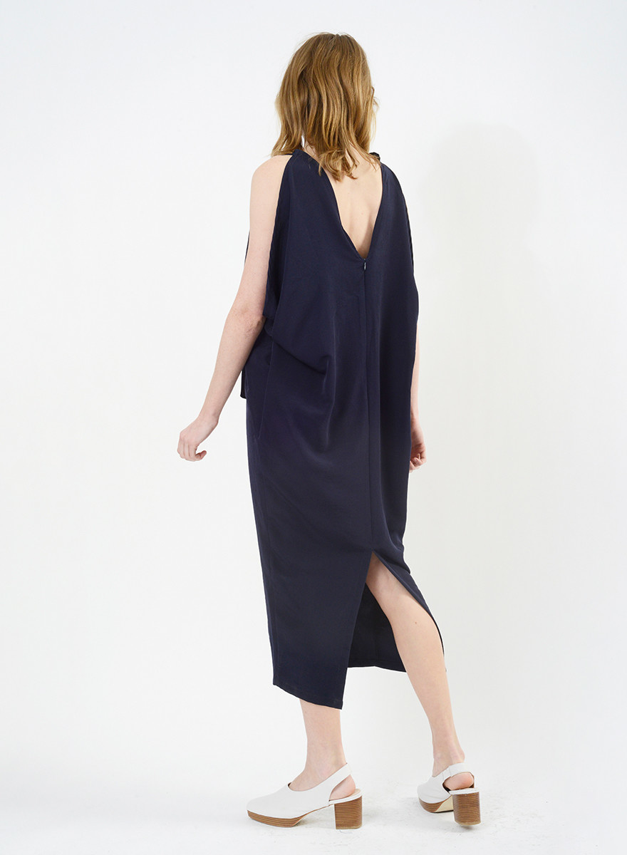 Airflow Dress - Navy