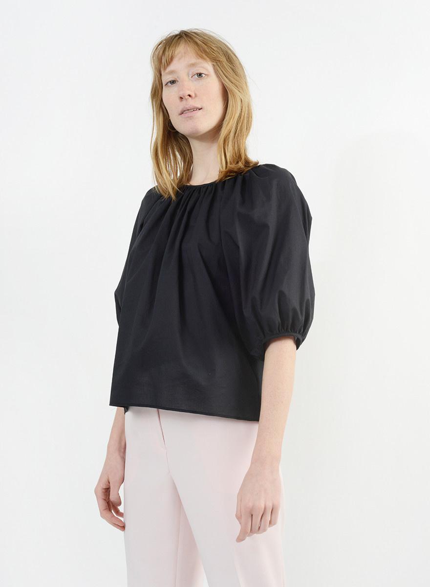 All Gathers Shirt - Black