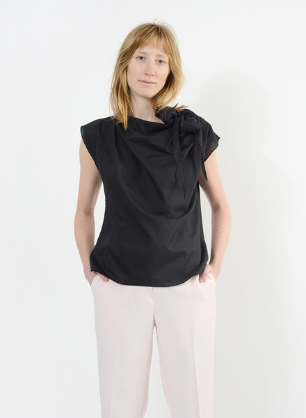 Neck Tie Shirt - Black