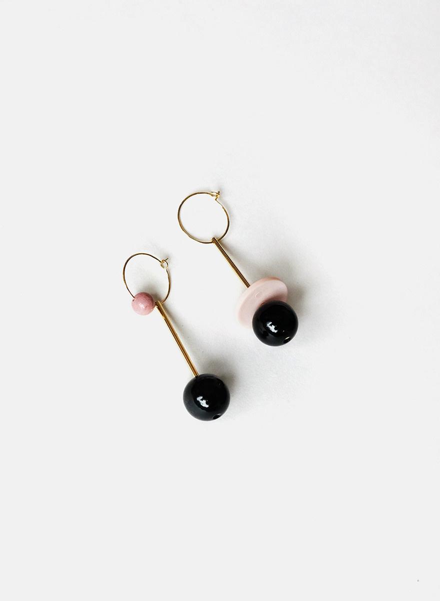 Sew-A-Song - Oskar Mismatched Earrings