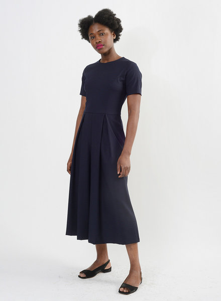 Spring Culotte Jumpsuit - Navy