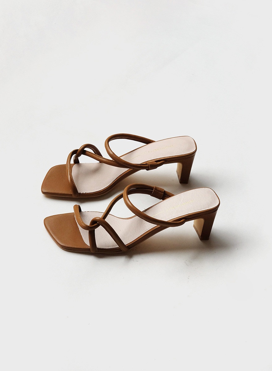 Intentionally__ Willow Cross Strap - Toffee