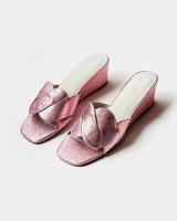 Intentionally__ Tippy Wedge - Metallic Pink