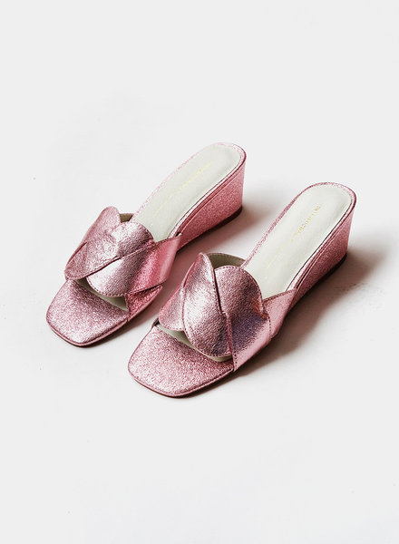 Intentionally__ Tippy Wedge - Metallic Pink