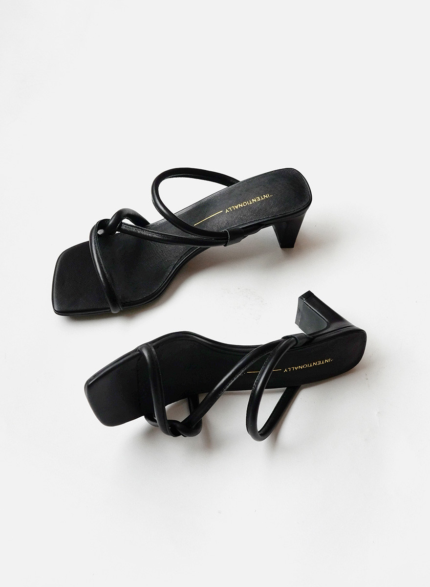 28ea2c440 Intentionally   Willow Cross Strap - Black - Meg - Made in your  neighborhood by women for women