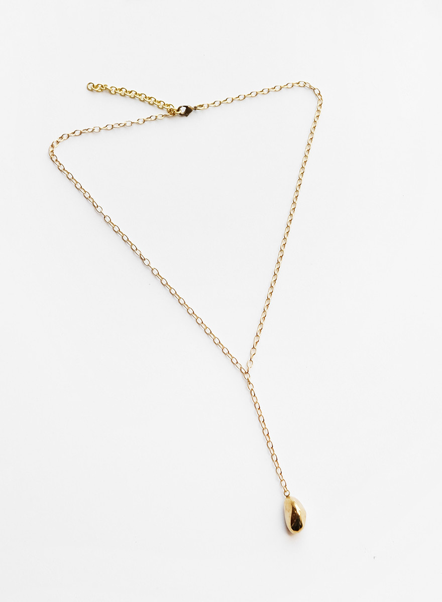 Soko Soko - Jiwe Lariat Necklace