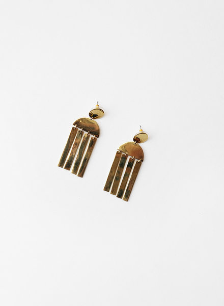 Soko Soko - Long Cala Earrings