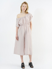 Ruched Jumpsuit - Musk