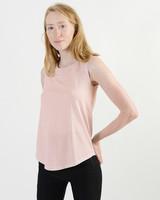 Cap Sleeve Tank - Faded Pink