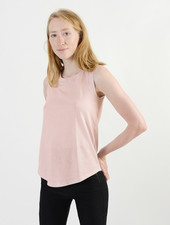 Cap Sleeve Tank - Faded Pink