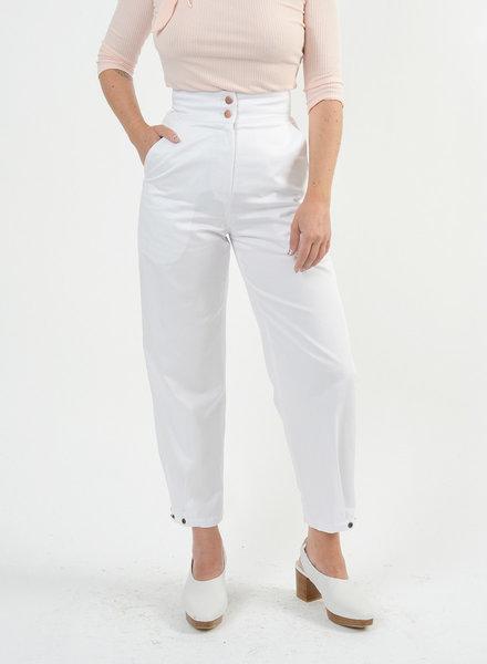 Denim LeMaire Pant - White