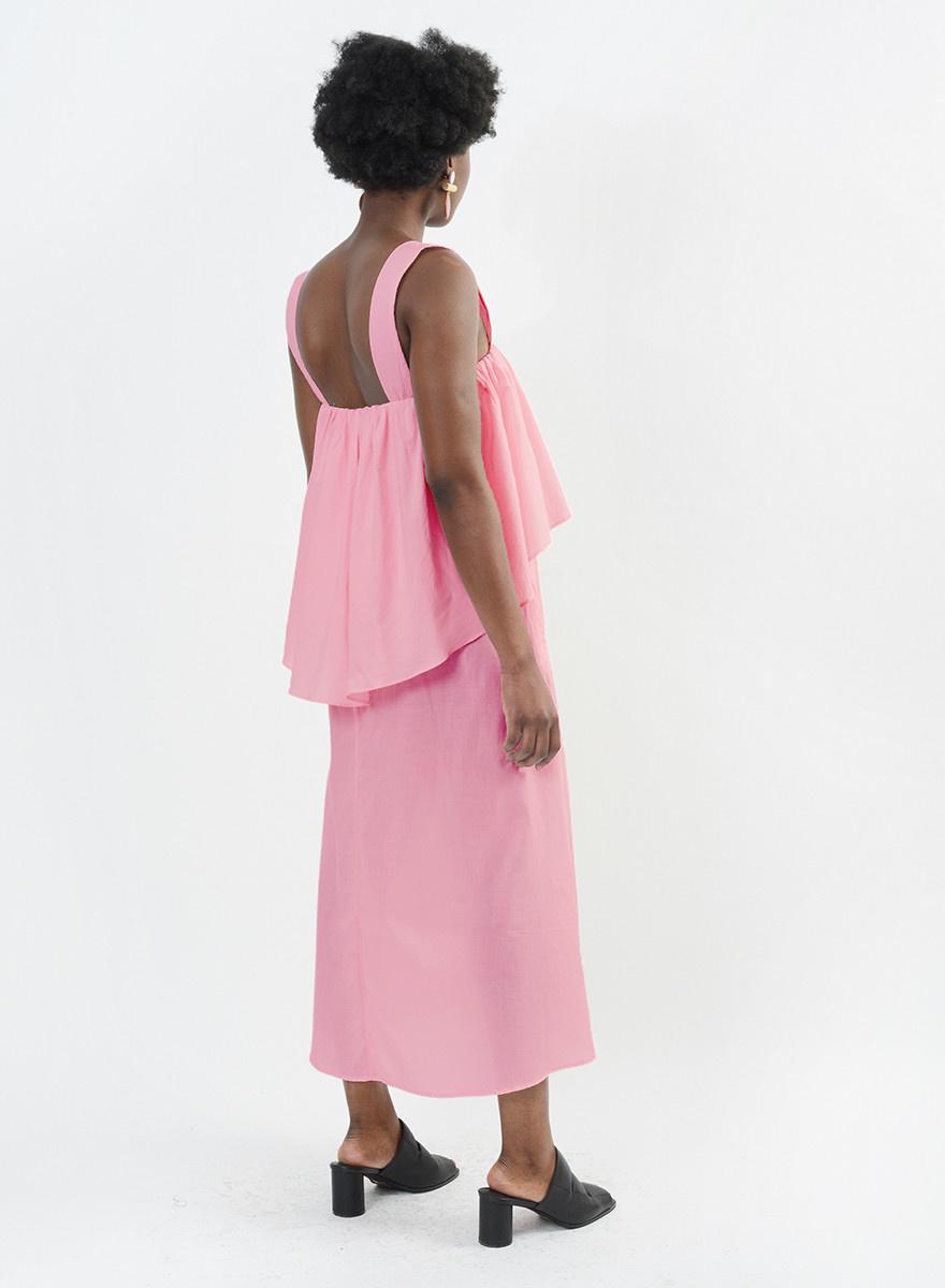 Mai Tai Dress - Flamingo