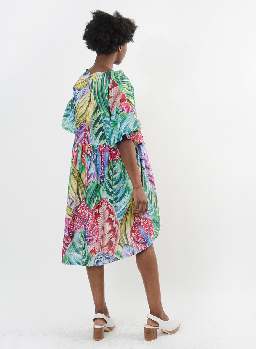 Hawaiian Dress - Tropical Palm
