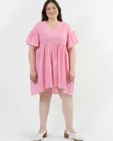 Hawaiian Dress - Flamingo