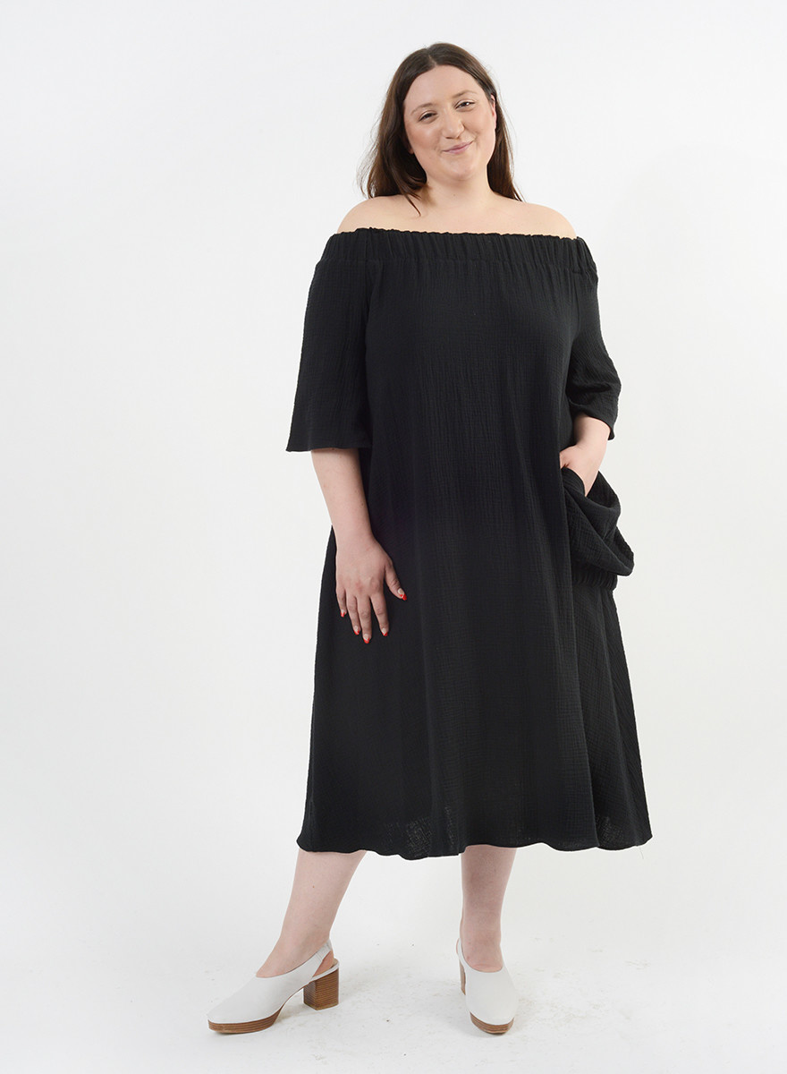 Elastic Dress - Black