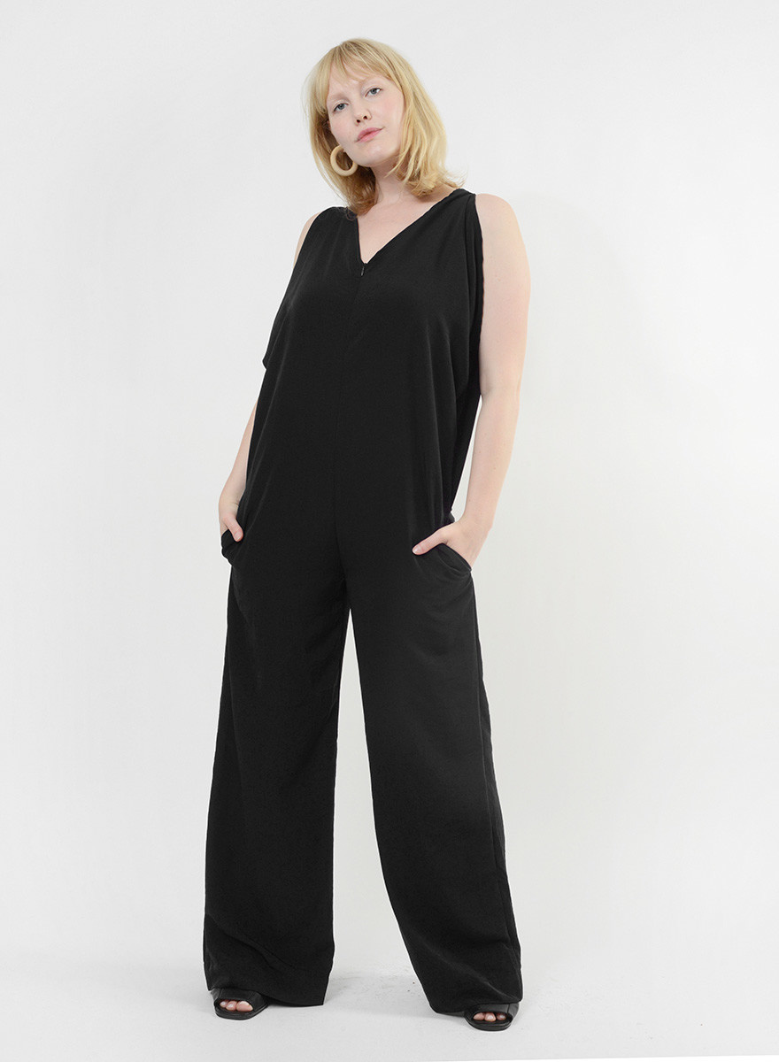 Airflow Jumpsuit - Black