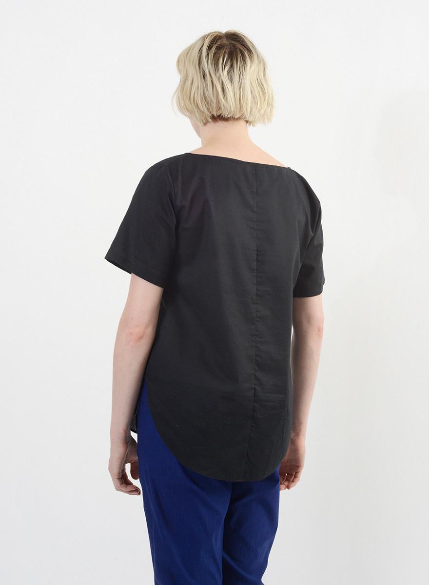 Handkerchief Top - Black