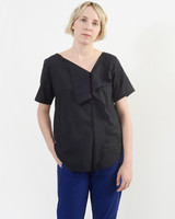 Handkerchief Top - Black