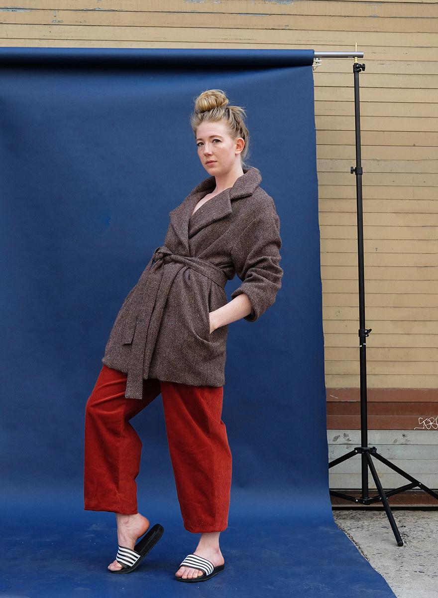 Wool Chi Chi Jacket