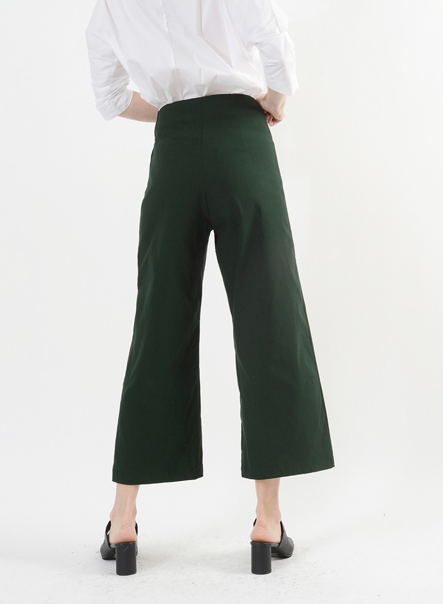 MiMi Frocks Odette Pant - Bottle Green