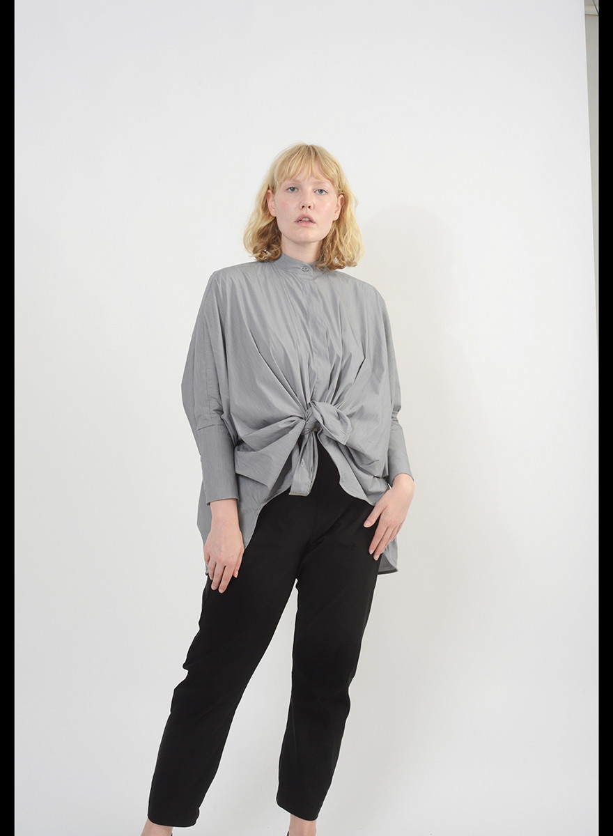 The Biggie Shirt - Grey Melange