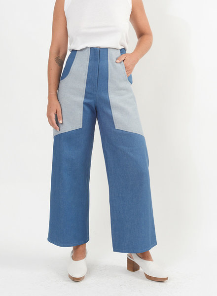 Denim Lou Lou Jeans - Light Indigo