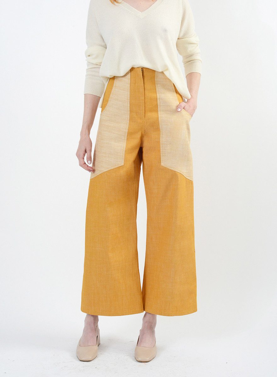 Denim Lou Lou Jeans - Industrial Yellow