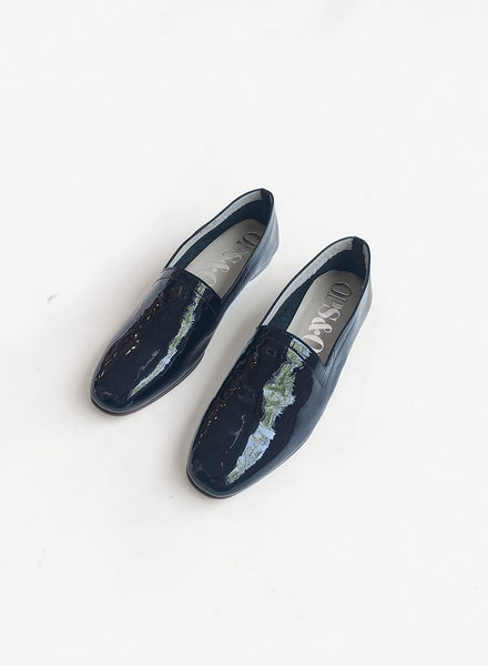 Ops Ops Loafer - Patent Midnight Blue