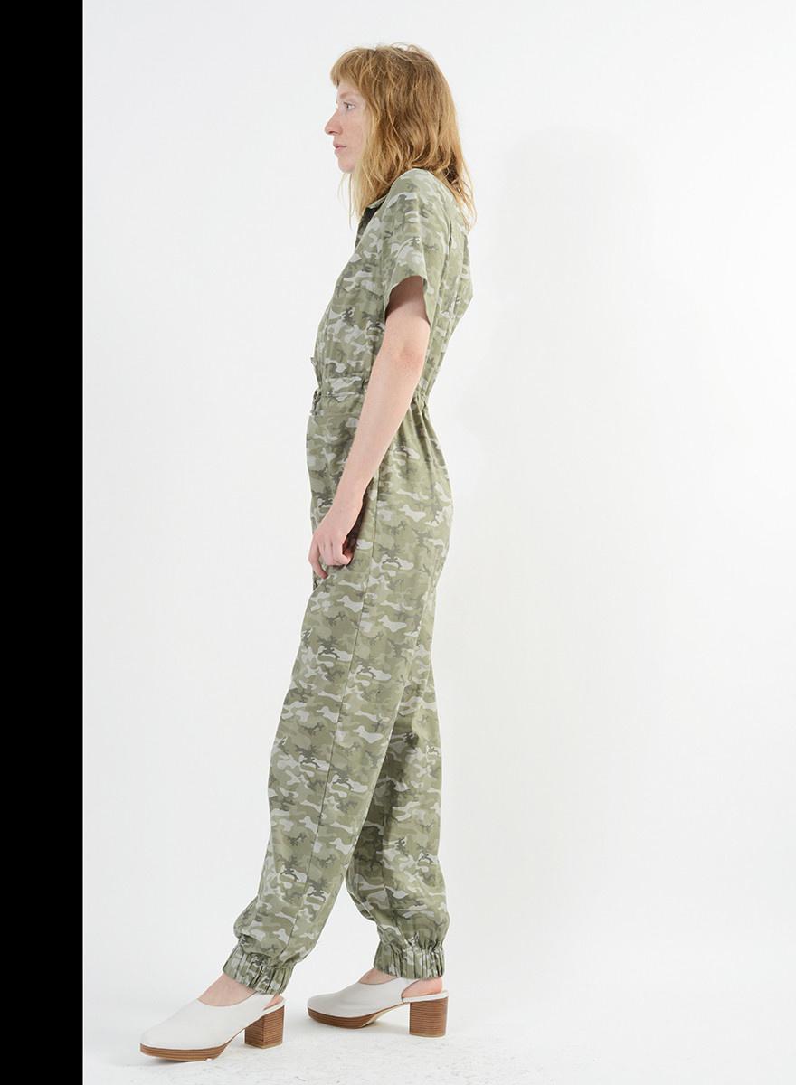 Camo Jumpsuit - Green Camo