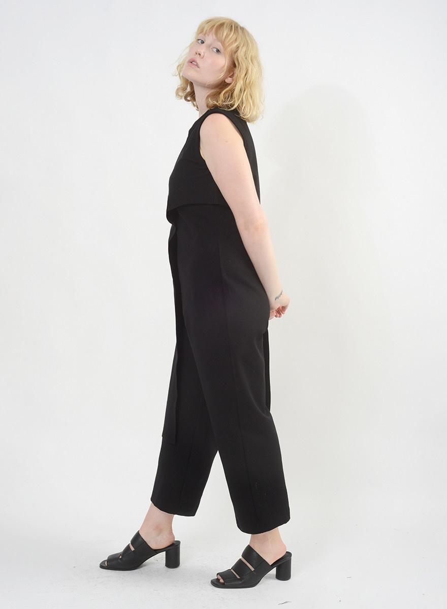 Ponte Baroque Jumpsuit - Black