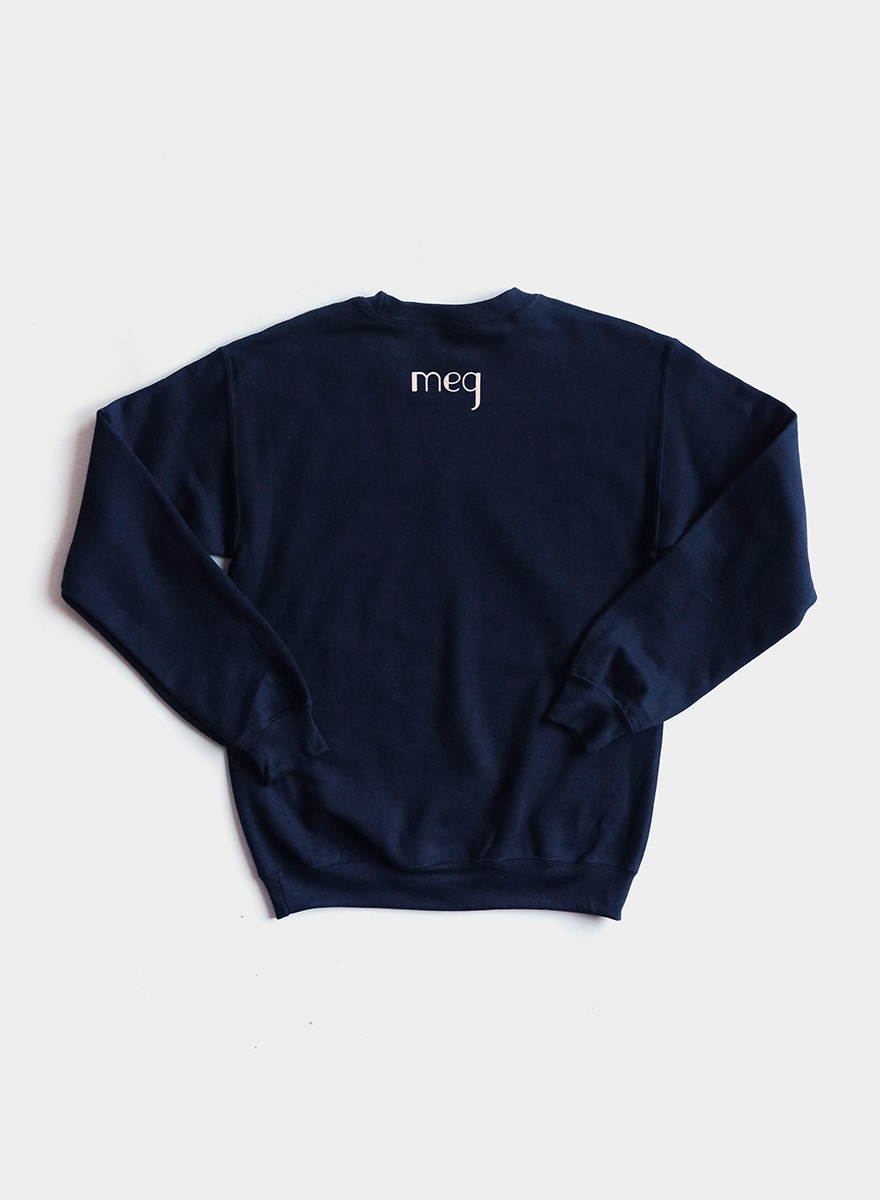Tough Titties Sweatshirt - Navy / Cream