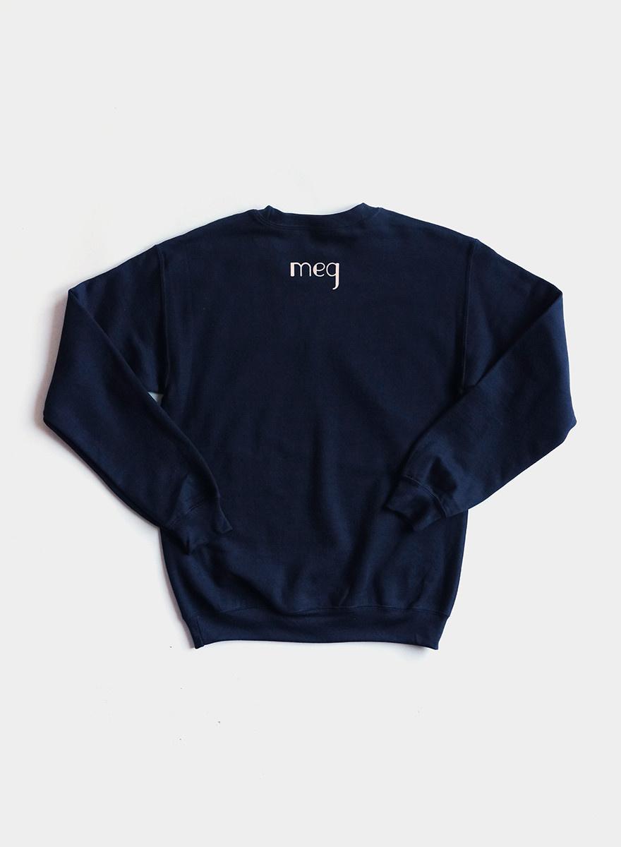 Tough Titties Sweatshirt - Navy / Cream