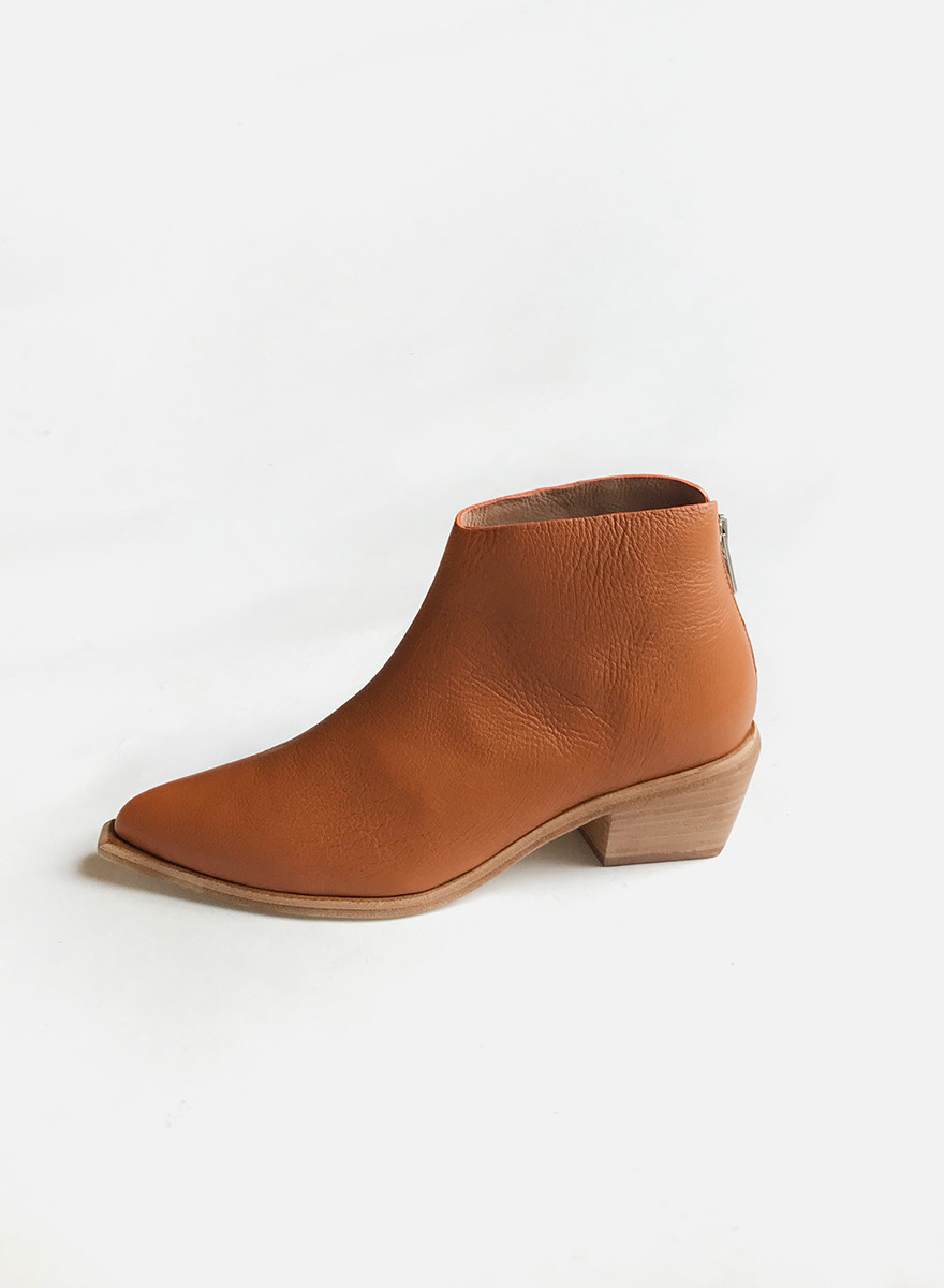 Wal&Pai - West Bootie - Burnt Sienna