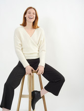 Wrap Sweater - Ivory